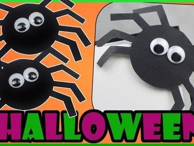 DIY Halloween | Back to school | Spinne Bücherecke Lesezeichen basteln | spider bookmark | craft
