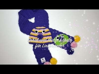 Wolle Schal Und Mütze Häkeln Für Linkshänder Myboshi Isehara