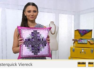 Video 12 - Vlieseline Rasterquick Viereck