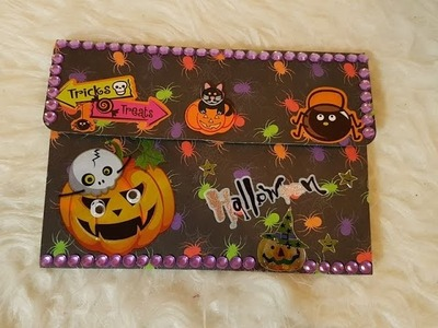 Watch me craft [ Halloween Goodiebag ] Folia Halloween Set !