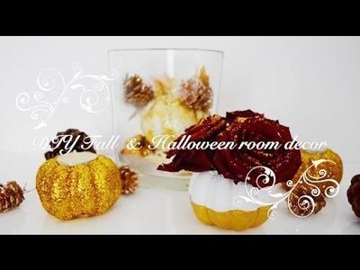DIY Fall & Halloween Room Decor - EASY IDEAS