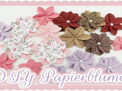 DIY Papierblumen ||  Craft update #12  & Tutorial  || Bastel-Fee