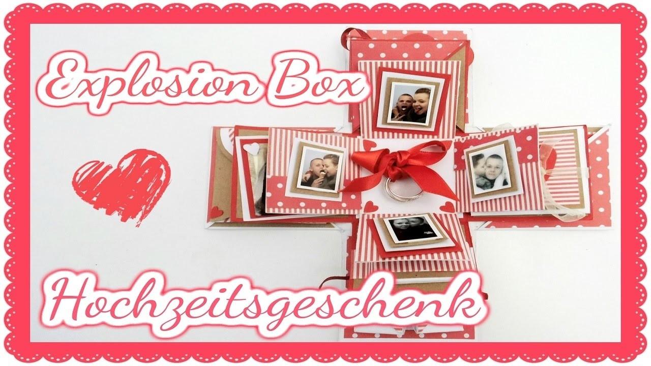 Explosion Box für meinen Mann - Hochzeitsgeschenk  || Craft update #13