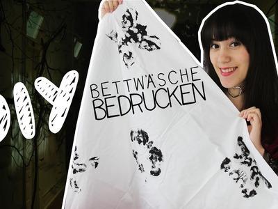 DIY   Bettwäsche bedrucken