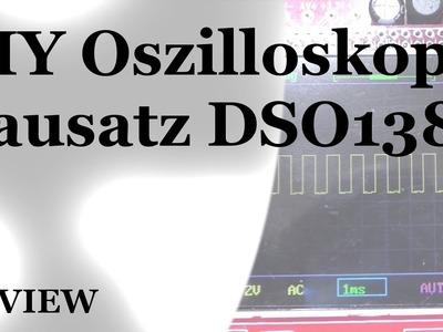 DIY Oszilloskop DSO138 - Aufbau und Demo [DE.HD]