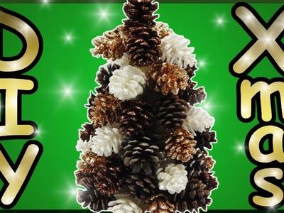 DIY xmas | Weihnachtsbaum aus Tannenzapfen basteln | Christmas tree | pine. fir cone