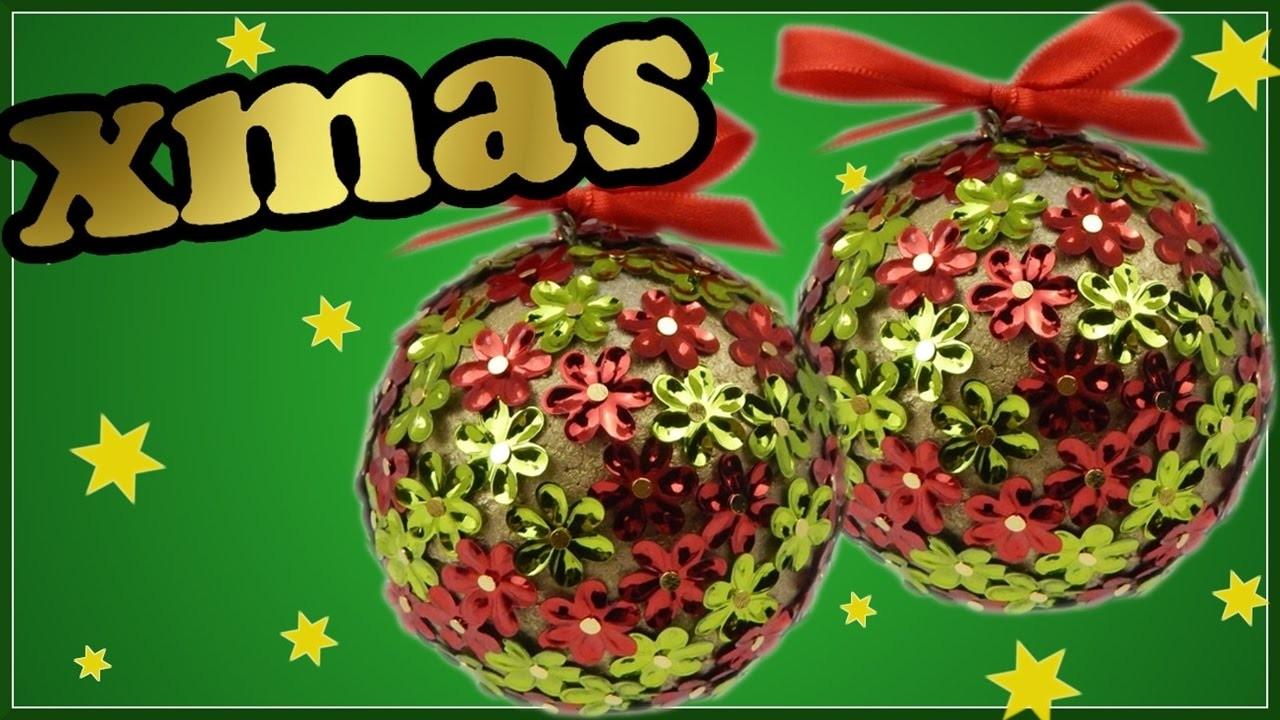 DIY xmas | Weihnachtskugel | Christbaumschmuck selber machen | Christmas tree ornament