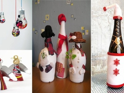 DIY 5 Ideen Weihnachtsdeko Upcycling Recycling und so ne Sachen - Weihnachtsdekoration nicht gekauft