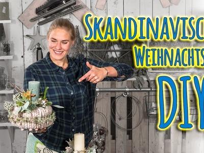DIY Adventsgesteck - Skandinavischen Weihnachtsnest