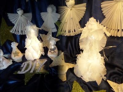 DIY by kekaplauderei: Beleuchtete LED WINTER-Weihnachts DEKO, aus Butterbrotpapier-UPSYCLING