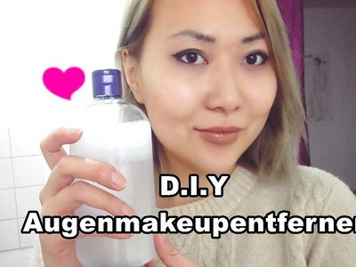 D.I.Y Augenmakeupentferner. Simple. Anrious