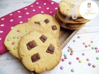 DIY | Jumbo Cookies | XXL Kekse | Kinderriegel Kekse | Cookie mit Smarties