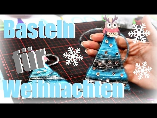 diy inspiration weihnachten 2016 baumschmuck basteln. Black Bedroom Furniture Sets. Home Design Ideas