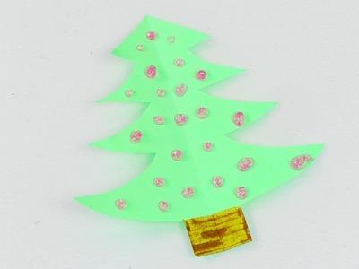 Mini Weihnachtsbaum basteln | Schnelle DIY Idee als Deko & Geschenk | Super niedlich | Adventsdeko