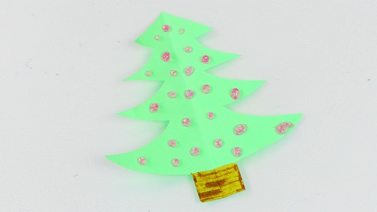 mini weihnachtsbaum basteln schnelle diy idee als deko. Black Bedroom Furniture Sets. Home Design Ideas