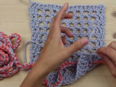 Crochet Along 2016 -Schritt 7  Kleines Quadrat