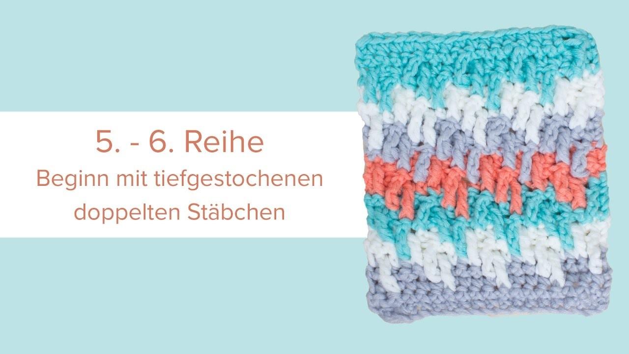 Crochet Along 2016 - Schritt 8 Kleines Quadrat
