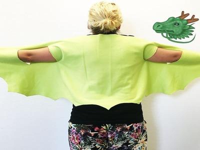 Drachenflügel selber machen ! | Passend zum Filmstart von Elliot, der Drache - Basteln und Malen