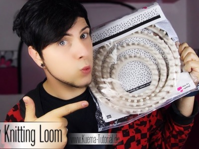 Mein Knitting Loom. Strickring Empfehlung