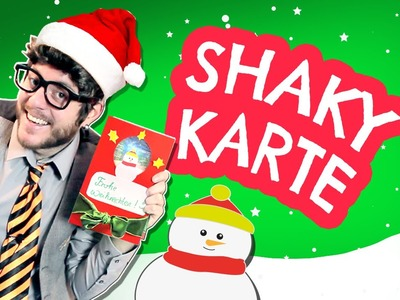 Weihnachtskarte selber machen.basteln mit Kinder. - Tobilotta 36