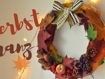 DIY AUTUMN WREATH | Charlotte K.