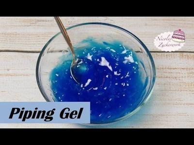 DIY Piping Gel selbst herstellen (VEGAN) | How to make | Rezept von Nicoles Zuckerwerk