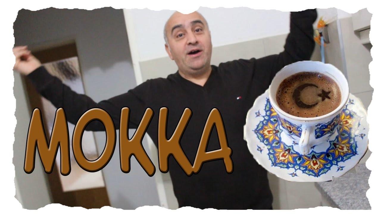 TÜRK KAHVESI !HOW TO MAKE MOKKA MIT MILCH !