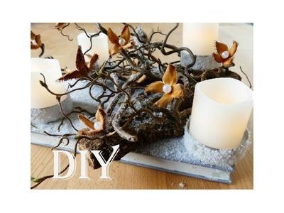 DIY: Adventskranz. advent wreath