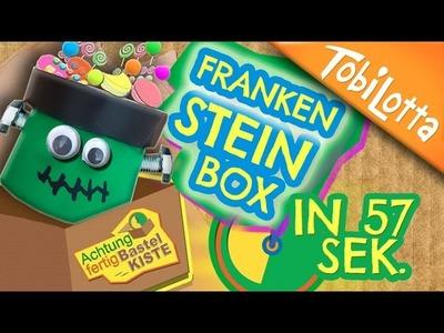 Frankenstein Candy Box | Last MINUTE Halloween DIY | schnelle Bastelidee | Kinderkanal -  AFB 13