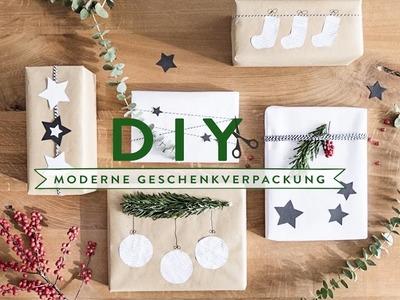 Weihnachtsgeschenke modern verpacken | WESTWING DIY-Tipps