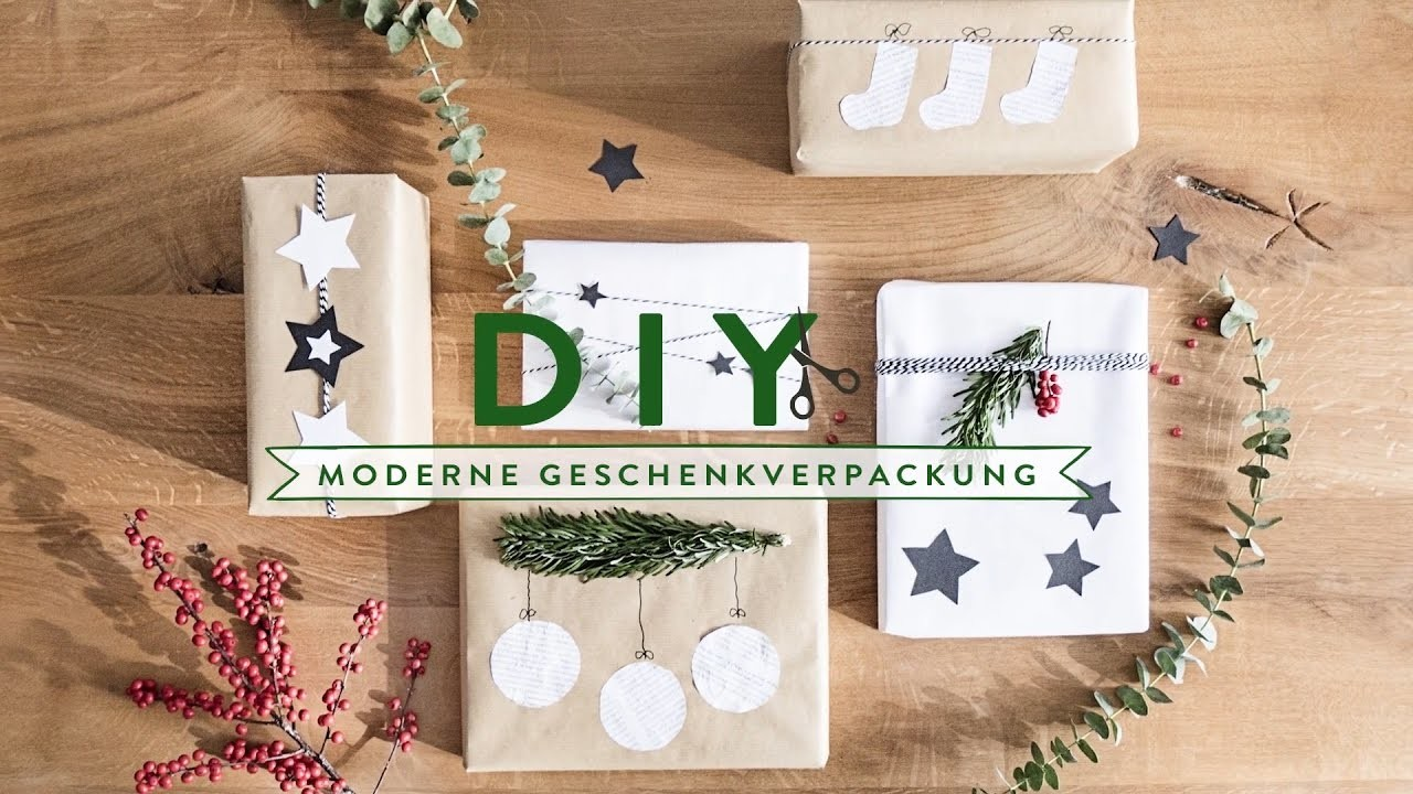 Weihnachtsgeschenke modern verpacken   WESTWING DIY-Tipps