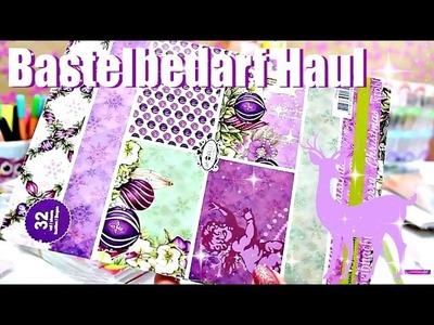 BESONDERER Bastelbedarf Haul | Weihnachten Edition 2016 | 9999 Dinge - DIY & Basteln