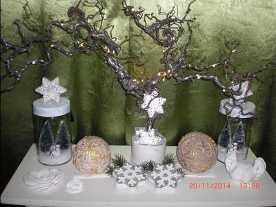 DIY - Lichterbaum als Weihnachtsdeko selber machen