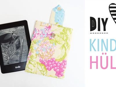 Hülle für Kindle oder Tablet nähen mit Schnittmuster. DIY MODE Nähanleitung