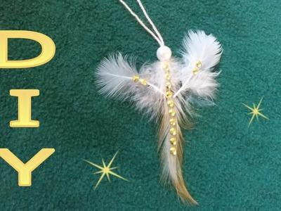 Kleine Federn - Elfe basteln ● DIY   * Julebuergerfee