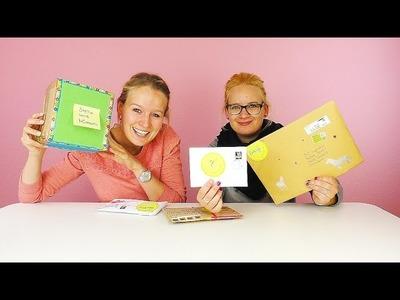 DIY Inspiration FANPOST Unboxing mit Eva & Kathi | VIELEN DANK für eure lieben Überraschungen!