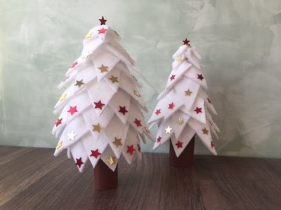 DIY Tannenbaum.Weihnachtsbaum basteln, mit und für Kinder, basteln mit Dingen die man zuhause hat