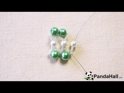 {50} Pearl Bracelet Design How to Make a Green Pearl Bead Bracelet 1