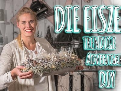 DIY Adventskranz - Die Eiszeit