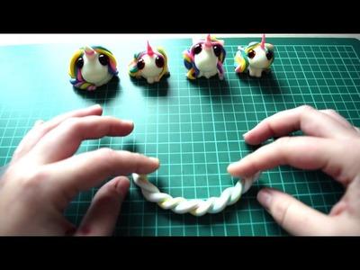 """DIY Statement-Kette """"Schaumzucker"""" aus Fimo-Resten by Cute Clay"""