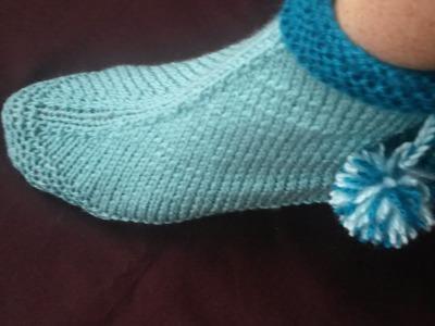 Stricken Hausschuhe, Puschen, Socken #2