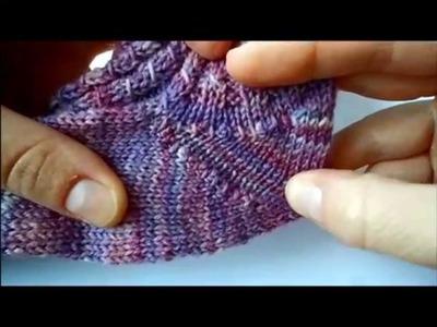 ToeUp-Socken Stricken Teil1 Maschenanschlag