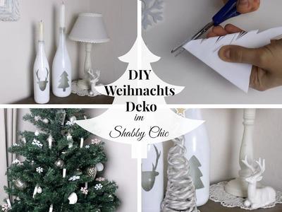 4 DIY WEIHNACHTSDEKORATIONEN | im Shabby Chic. Landhaus Stil