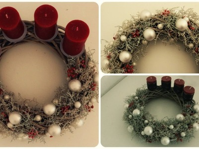 Adventskranz gestalten * DIY * Advent Wreath