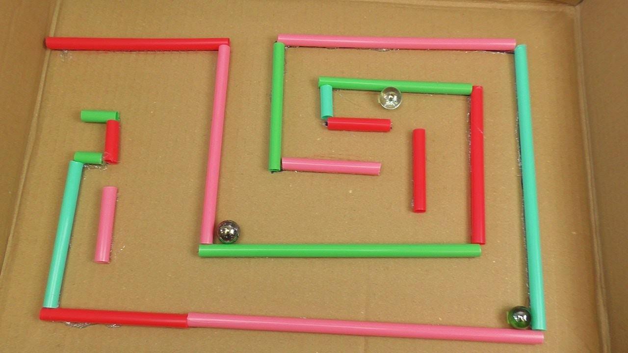 kugel labyrinth selber bauen basteln und spielen f r kinder einfache sch ne spielzeuge. Black Bedroom Furniture Sets. Home Design Ideas
