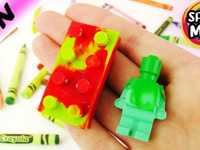 Lego Wachsmalstifte in Mikrowelle Experiment ! Melt'n Mold Factory Alternative| coole Designs