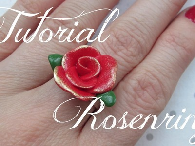 ROSE | Roses on Ring  | FIMO Tutorial