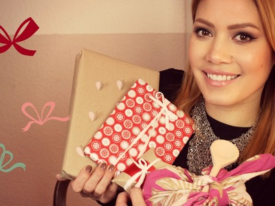 Geschenke verpacken | einfache Ideen