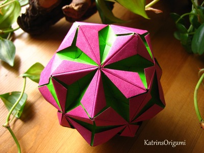 Origami ❀ Chamomile ❀ Kusudama