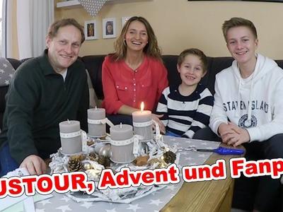 WEIHNACHTS HAUS- ROOMTOUR | Advent und Fanpost Grüße TipTapTube Vlog